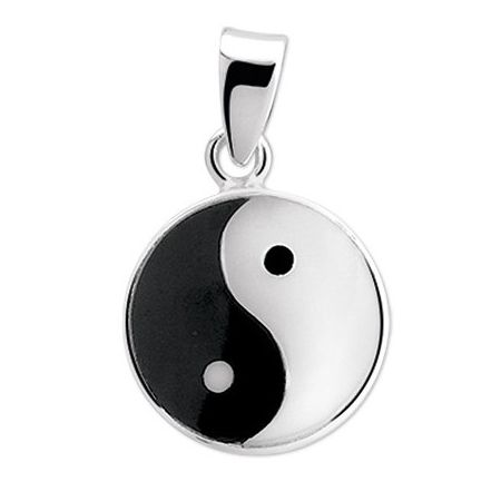 Pendant sterling silver YinYang