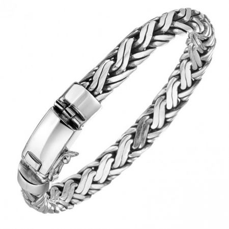 Sterling silver bracelet for men