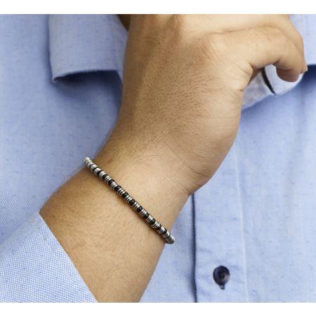 Bracelet men 4,5 mm 19 + 2,5 cm