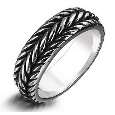 Stainless steel ring 'wires'
