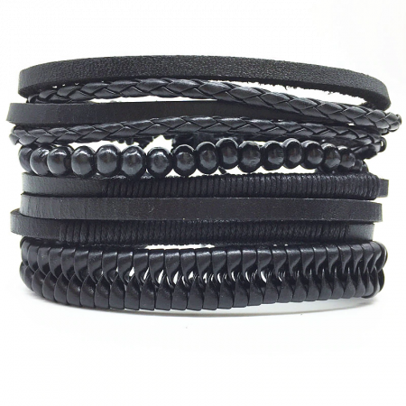 Surfer Leather Bracelet