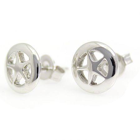 Stainless steel earstuds