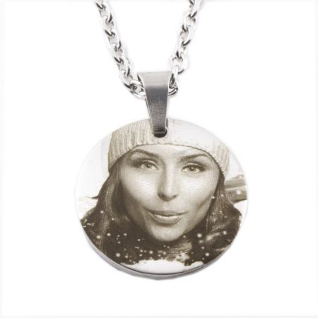Pendant Magnets, stainless steel with photo engraving