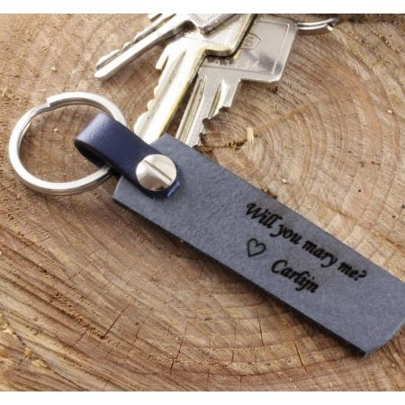 Keychain with Laser Engraving