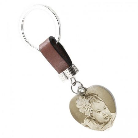 Keychain with Picture Engraving