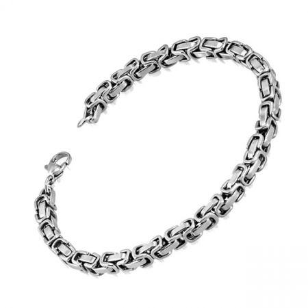 Byzantine chain bracelet