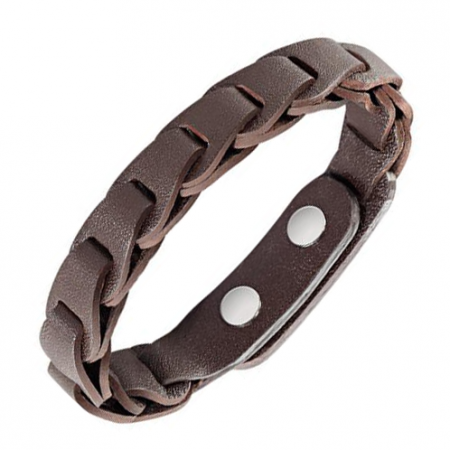 Leather Sector Bracelet
